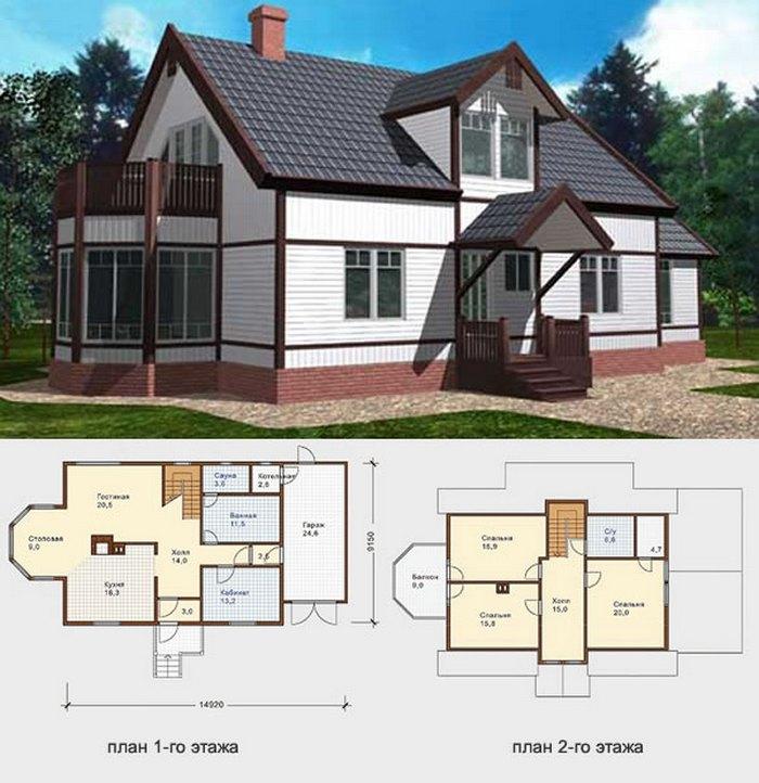 финские проекты домов