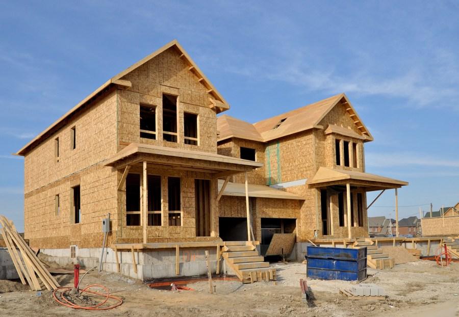 фото строительство дома самому показ