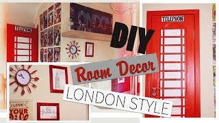 DIY:Room Decor London Style/Декор комнаты |Fosssaaa