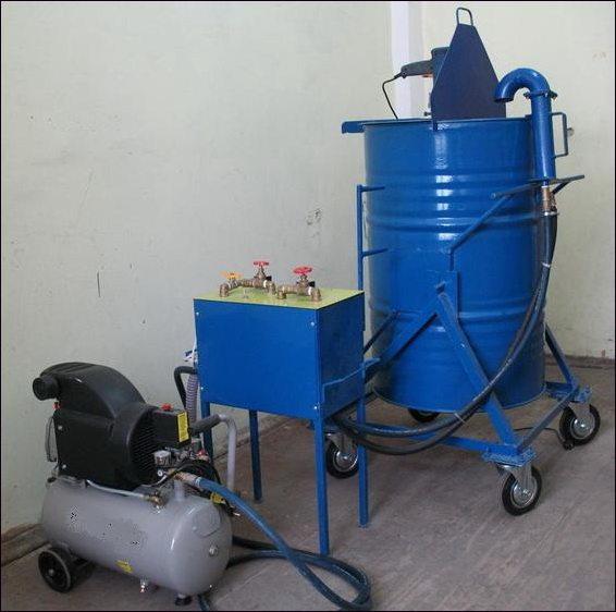 установка для изготовления пеноблоков