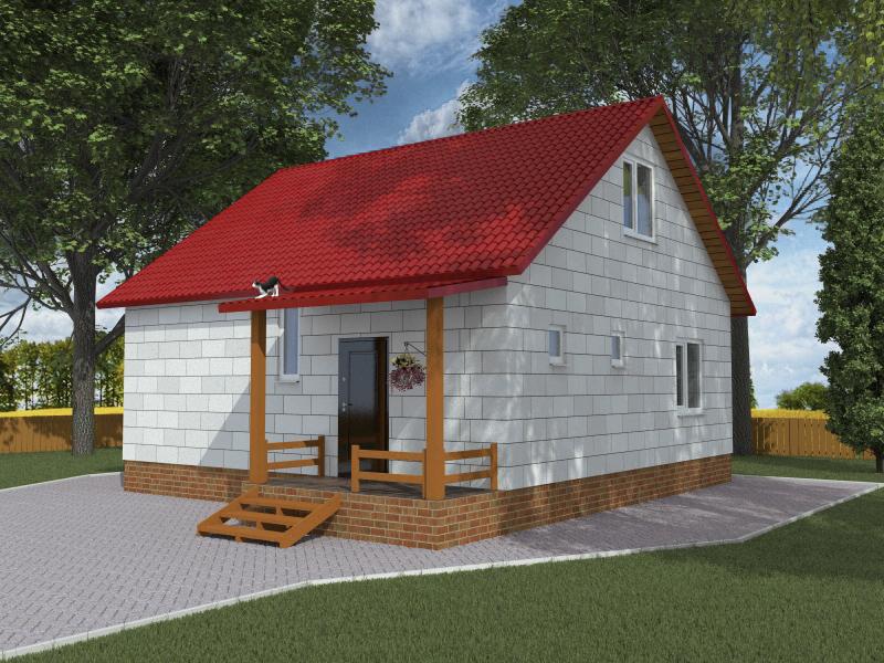 садоводов-любителей фото проекта домика для дачи из пеноблоков рецепты всегда высшем
